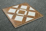 suelo de cerámica esmaltado sin pulir cristalino del azulejo del lustre blanco 333X333