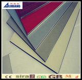 Painéis compostos de alumínio exteriores de construção das paredes de cortina