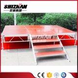 Fase de exposición de muebles de Aluminio portátil para la venta