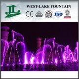 Grande progetto della fontana di Dancing di musica che unisce con l'esposizione dello schermo e del fuoco di acqua del laser