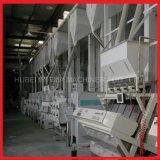 120t/d de la línea de molino de arroz integrada completa