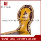 Cadeira personalizada mobília do metal da cafetaria do café do restaurante de Tuoye