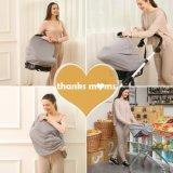 Pabellón elástico de la cubierta de asiento de coche de bebé