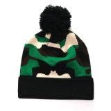 冬のアクリルの暖かい方法帽子POM POM Headwearの帽子