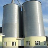 Wood Pellet Silo Galvanized Steel Storage Silo