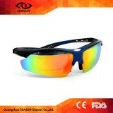 رياضة استقطب نظّارات شمس [أنتي-وف] ينهي زجاج مع 5 عدسة قابل للتبديل, 7 ألوان