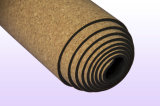 Constructeur en caoutchouc de couvre-tapis de yoga de liège avec l'impression d'OEM