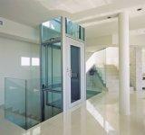 중국 제조자에서 엘리베이터가 4명의 사람에 의하여 2개의 정지 집으로 돌아온다