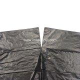 Sacchetto normale nero poco costoso di Poop del cane dell'HDPE, sacchetti residui del cagnolino