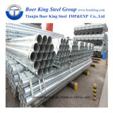 tubo de acero de la construcción de 48.3m m/tubo galvanizados andamio