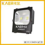 IP65 lumières d'inondation portatives imperméables à l'eau du Ting 100W IP65 DEL d'éclairage LED de l'aluminium SMD