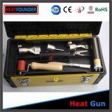 canon de chaleur de soudure de membrane du géotextile 1600W, canon de chaleur électrique, canon de chaleur sans fil