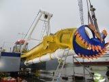Dragas da sução do cortador hidráulico com 800-8000 M3/Hour