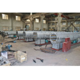 Linha de extrusão de tubos PE/Linha de Produção de tubos de HDPE
