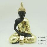 Resina pequeno personalizado meditando estátuas de Buda para decoração