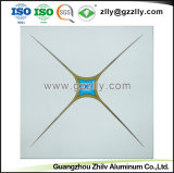 Simple et diagonale décent fleur panneau de plafond polymériques