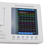 Marca CE diagnóstico clínico digital de 3 Canais eletrocardiógrafo ECG - Martin