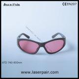 755nm e 808nm Óculos de Protecção Laser de diodo de laser Alexandrite & Laserpair