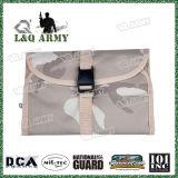 Sac cosmétique de déplacement militaire d'article de toilette de sac de sac de mémoire avec le miroir