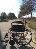 Облегченно, складывающ, хозяйственная ручная кресло-коляска