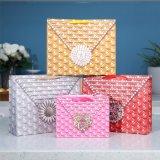 Хозяйственная сумка бумаги карточки розового способа Rose выдвиженческая косметическая белая