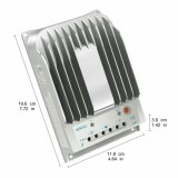 Van MPPT 10A 12V/24V Rs485/rj45- Communicatie Haven voor ZonneControlemechanisme 1215bn