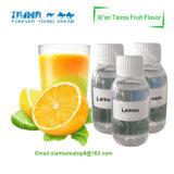 높은 집중된 레몬 액체 취향
