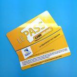 Cartão branco em branco do pagamento 13.56MHz RFID MIFARE DESFire EV1 4K de Cashless