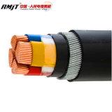 Cabo de 3 núcleos aprovado pela CE condutores de cobre XLPE com bainha de PVC de isolamento do cabo de alimentação