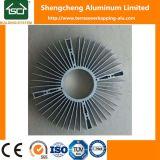 Intercambiador de calor de alta calidad de la fábrica de disipador térmico de aluminio