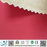 Cuero artificial de la PU de la tela del sofá/vinculación sintetizada del cuero del sofá con el paño grueso y suave para los mercados de América