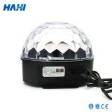 Indicatore luminoso della sfera di cristallo del LED con gli altoparlanti