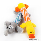 Eco-Friendly игрушки плюша любимчика звучая вспомогательное оборудование игры собаки