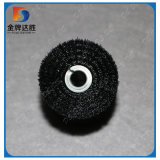 Bobine de nylon noir serti PP en spirale pour le nettoyage de la brosse