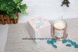 Cúpula Dorada perfumada Jar para la decoración de velas