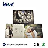 5-дюймовый романтический видео карта Brochure-Video свадебные приглашения