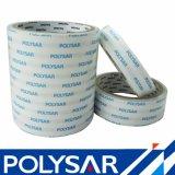 Nastro parteggiato adesivo solvibile del tessuto del rullo enorme o di taglio doppio