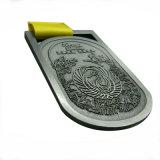 Новый дизайн рекламных сувениров Award спорта металлические медаль с лентой