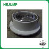 No regulable de 3 vatios de plástico giratorio de aluminio revestido de Downlight LED