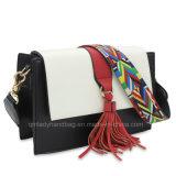 De Kleurrijke Riem van de Kleur van het contrast Dame Handbag