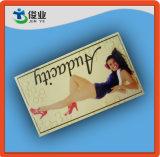 Impressão personalizada atraente sapatas das mulheres pendure as tags
