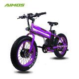 20 pulgadas de neumáticos de la grasa de motor doble E Bicicleta con motor de 350 W