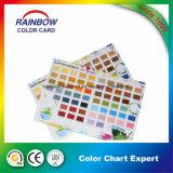 Catálogo de tarjeta del color de Emulision de la impresión en offset