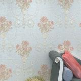 Papel de empapelar del PVC, Wallcovering, decoración de la pared, tela de la pared del PVC 3D, solando la hoja, papel pintado del PVC