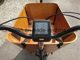 250With500W Children/2車輪Bakfietまたは幼児のグループまたは2つの車輪のバイクのための電気2台の車輪配達自転車または貨物バイクかボックスバイクはバイクW Bafangの中間モーターを運ぶ