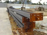 Lager verwendetes Stahlkonstruktion-Projekt in Indonesien
