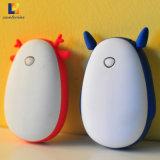 주문 로고 USB 힘 은행을%s 가진 재사용할 수 있는 휴대용 손 온열 장치