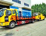 Grúa grúa FAW destroza pesado camión con grúa de 8 toneladas