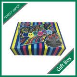 Rectángulo de joyería de papel rígido Libro-Shaped de lujo del regalo