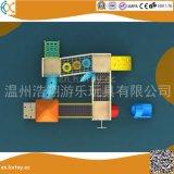 Lieferungs-Entwurfs-im Freienspielplatz-Gerät für Kinder Hx2501d
